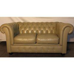 Chesterfield bőr kanapé