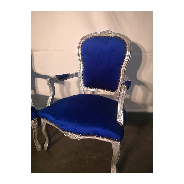Kék karfás fotelek
