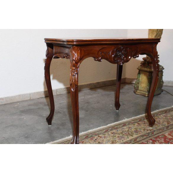 Antik barokk konzolasztal,játákasztal.