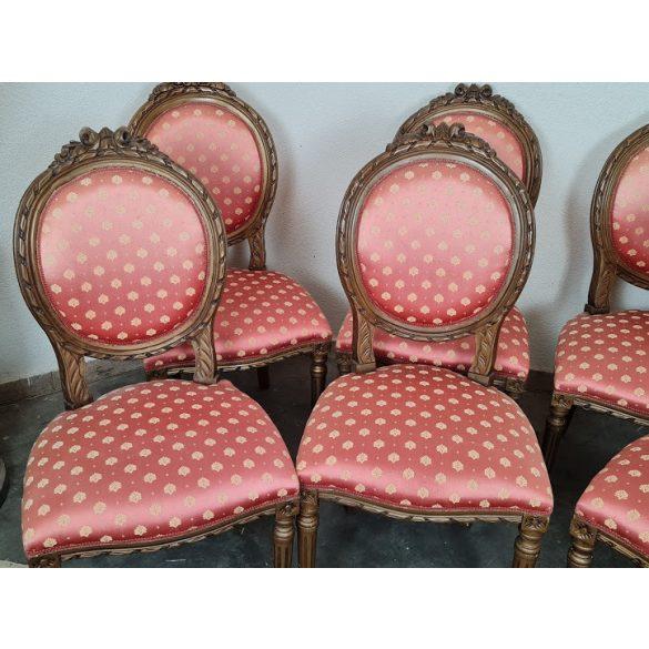 Francia medallion székek