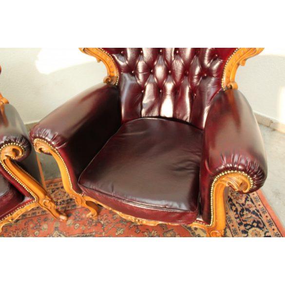 Barokk chesterfield fotelek.Ár/db!