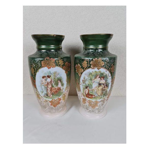 Festett üveg váza