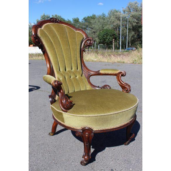 Csodaszép antik barokk fotel