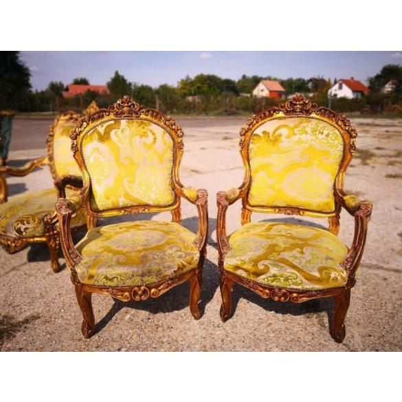 Francia antik barokk fotelek