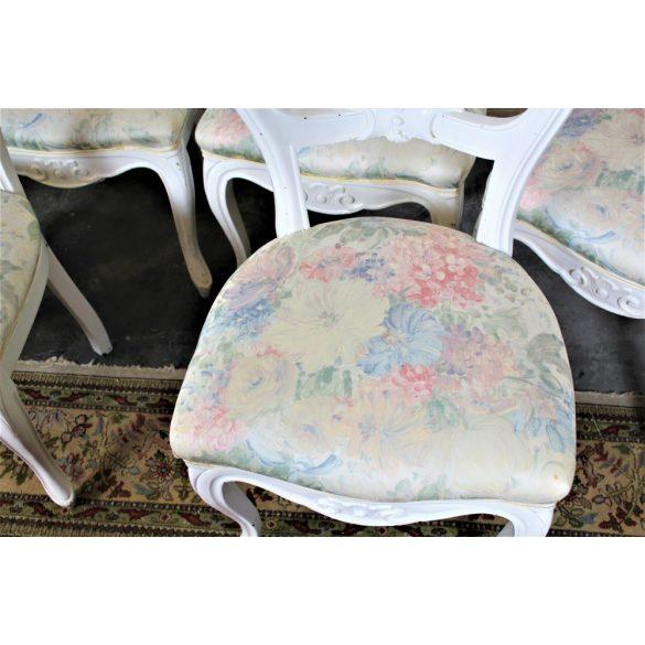 Vintage stílusú barokk székek