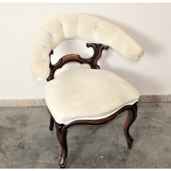 Antik chesterfield barokk karfás szék(íróasztalhoz kitűnő)