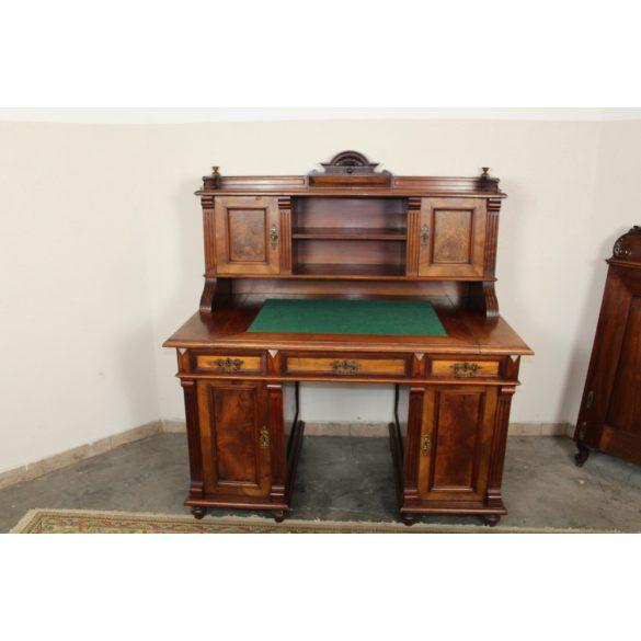 Antik ónémet felépítményes íróasztal