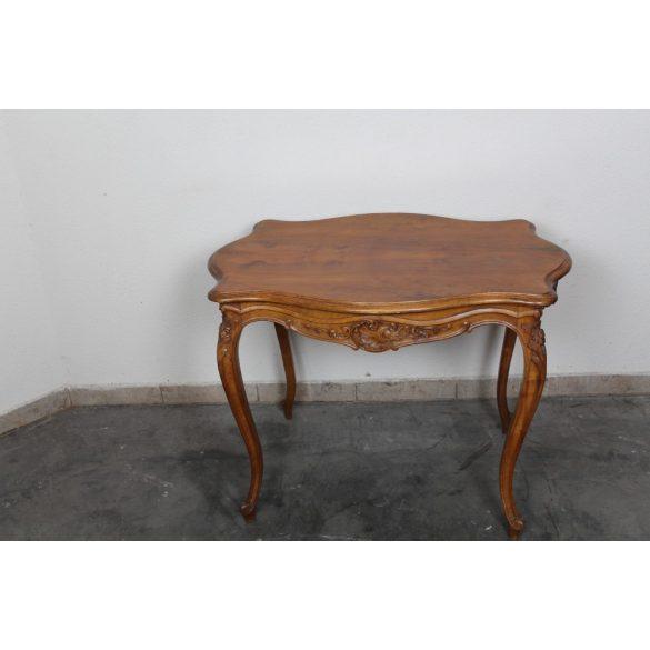 Antik bécsi barokk szalon asztal