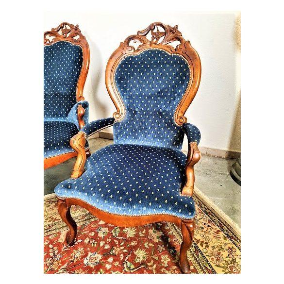 Gyönyörű antik barokk stílusú ülőgarnitúra