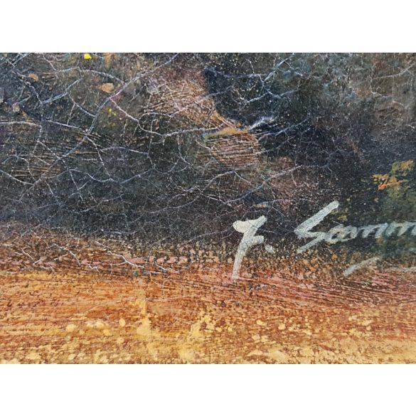 Régi szignós festmény