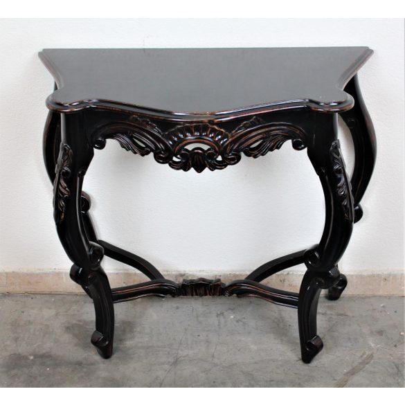 Barokk stílusú konzolasztal