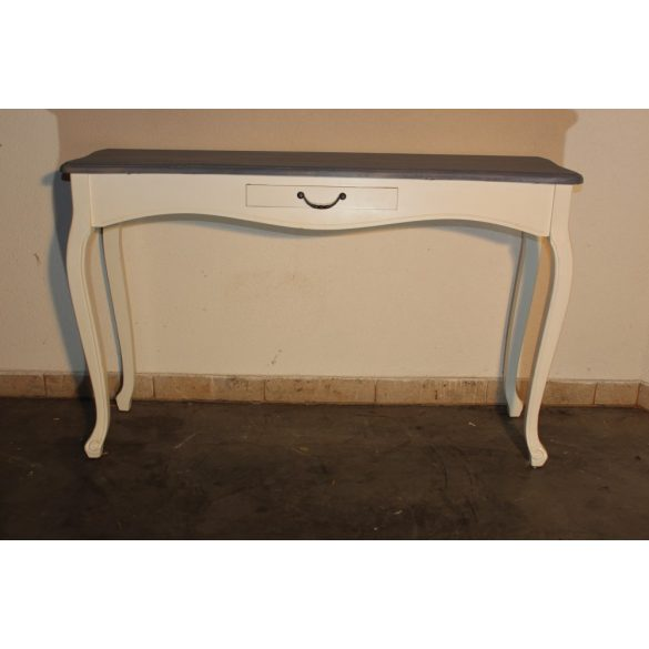 Szürke tetejű konzolasztal