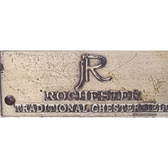 Gyönyörű eredeti chesterfield bőr kanapé, szófa