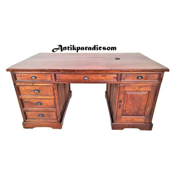 A311 Tömör mahagóni dupla (iker)íróasztal