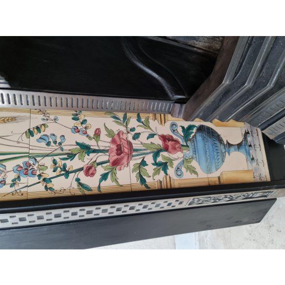 Antik, felújított Angol stovax kandalló
