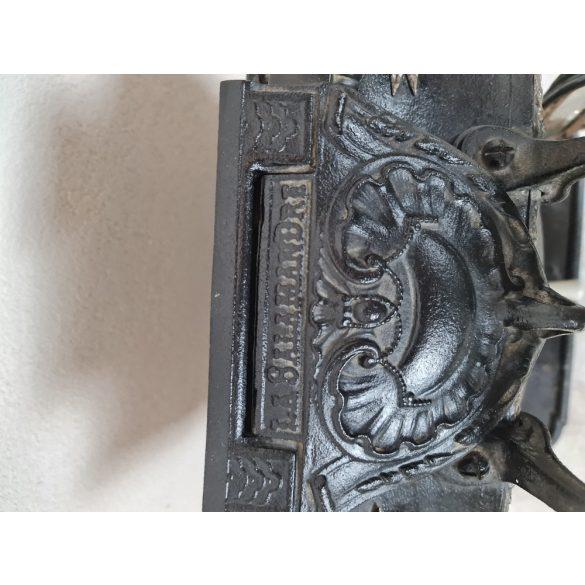 Antik,La Salamandre  Francia öntöttvas szecessziós kandalló