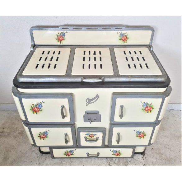 Gyönyörű vintage duplasütős spalhert