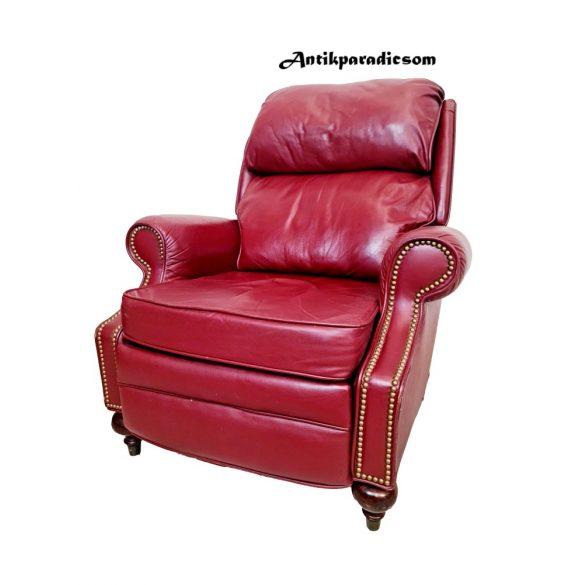 Chesterfield pihenő bőr fotel
