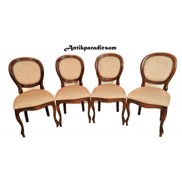 Antik medalion  neobarokk székek
