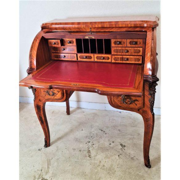 Csodaszép intarziás íróasztal,szekreter