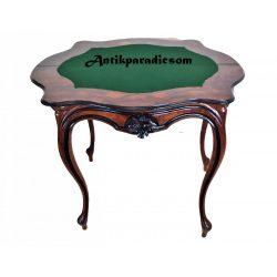 Antik barokk konzolasztal,játékasztal