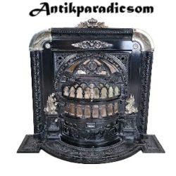 Különleges antik kandalló kályha